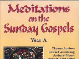 Meditations on the Sunday Gospels 1
