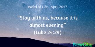 WORD OF LIFE APRIL 2017