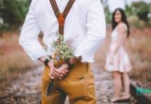 Finding True love Flowers girl