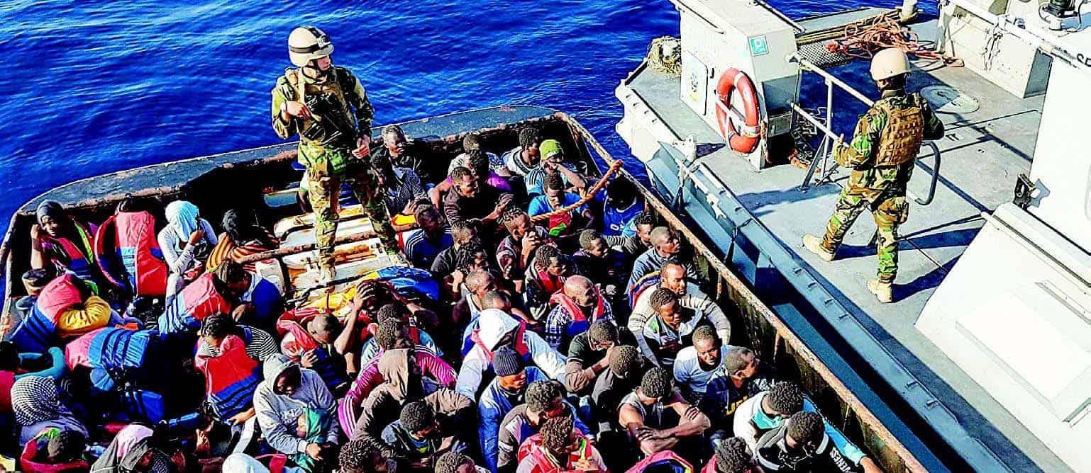 boat of refugees