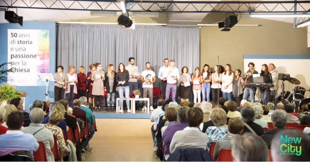 50 Years of passion for the church Castelgandolfo