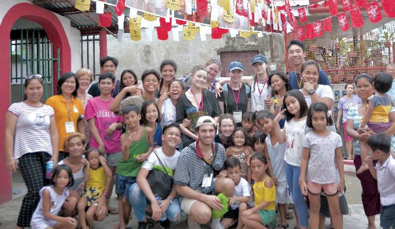 Visit to Bukas Palad Community in Cebu City