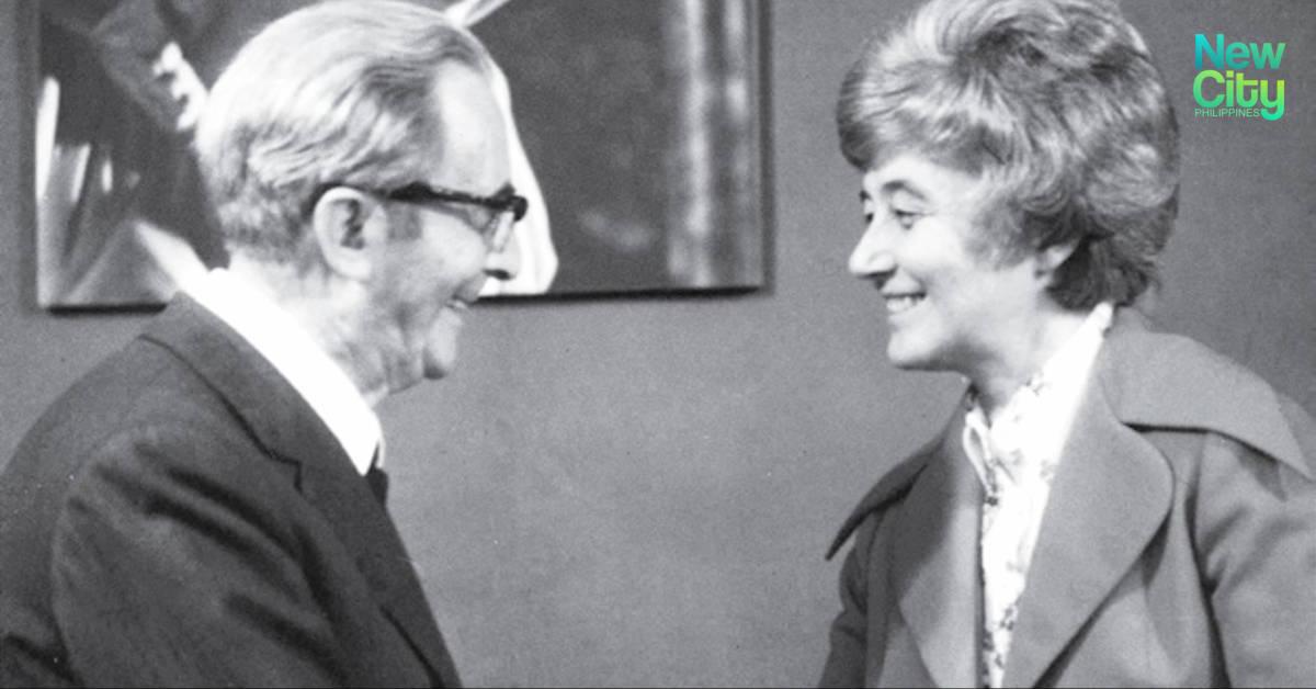 Igino Giordani and Chiara Lubich