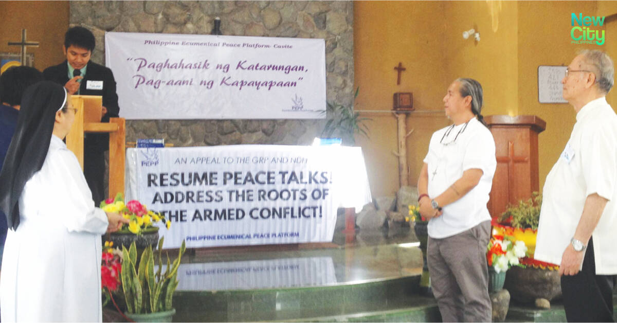 Cavite Ecumenical Movement Joins Peace Platform